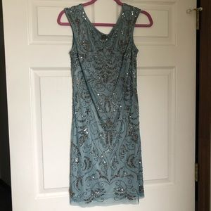 Adrianna Papell Beaded Formal Dress Size 4